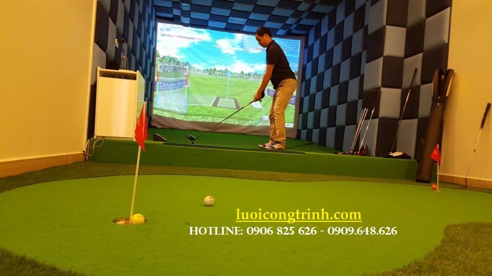 Hình ảnh phòng Golf 3D.