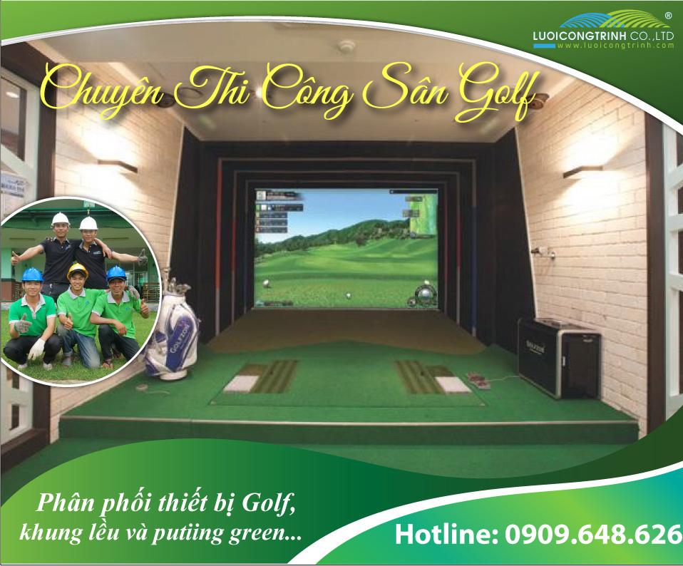 Mô hình phòng Golf 3D.