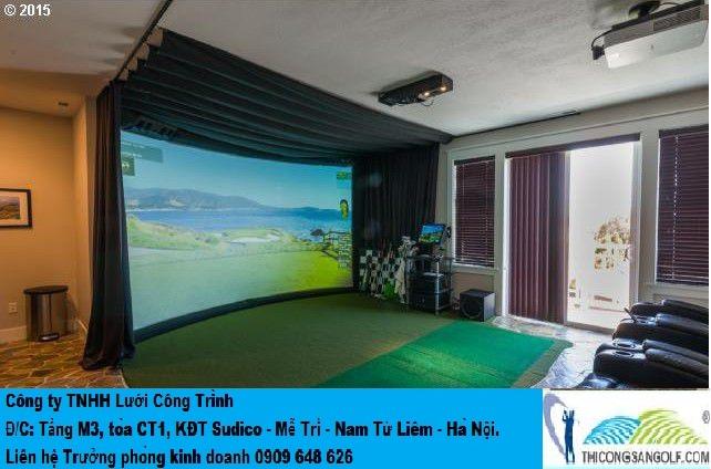 Phòng Golf mini.