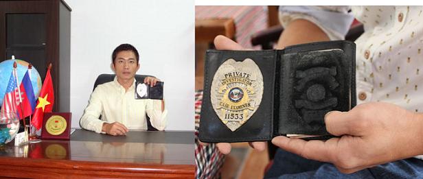 thám tử Lương Hiền Duy  và Huy hiệu thám tử tư 11533.